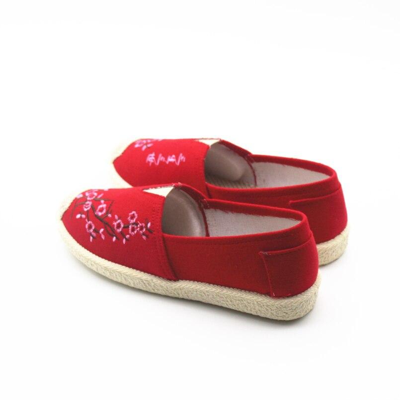 Sapatos Rouge Chaussures D'été Et A f Appartements b Confortable Dame Printemps Danse Cresfimix Femininos Femme Mignon Femmes Glissement c De Casual Sur e Plat Cool ORxnwdvq