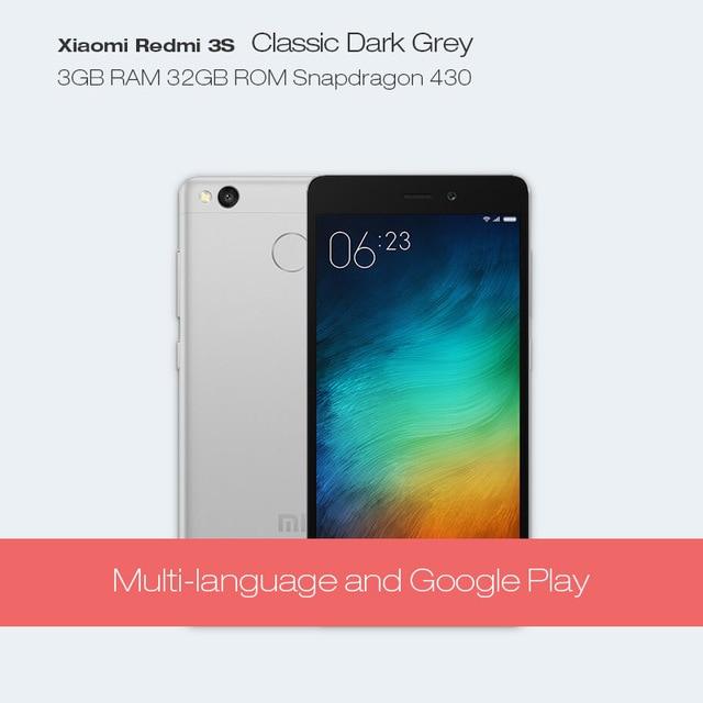 Dreami Original Xiaomi Redmi 3S Pro 3GB RAM 32GB ROM