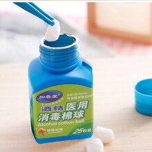 25 штук/бутылок медицинские спиртовые салфетки тампоны стерильный спиртовой ватный шарик дезинфицирует первую помощь домашняя Татуировка тампон