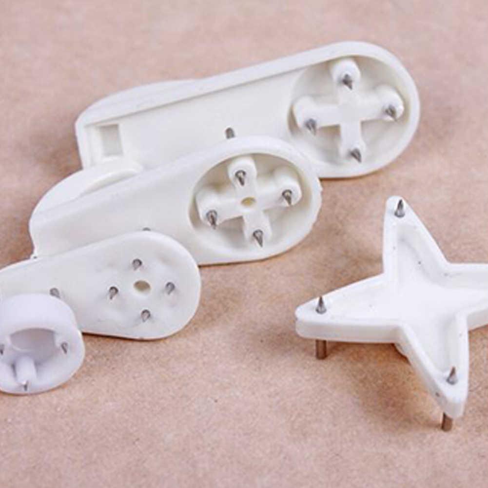 10 шт./партия белая пластиковая невидимая настенная фоторамка для фотографий крючок для ногтей вешалка