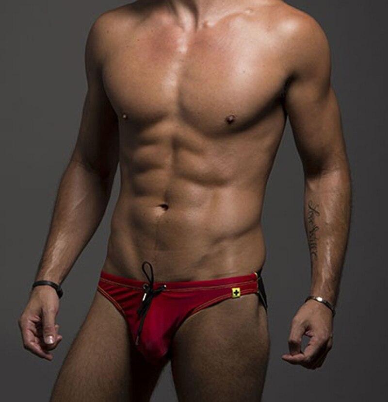 a09918128eb18 Hot Seller Sexcer Mens Swimwear Pouch Design Swim Trunks Mens Boxer ...