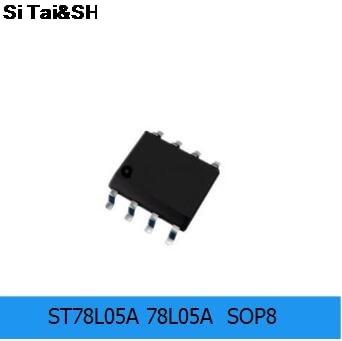 10PCS ST78L05A 78L05A  SOP8  Integrated Circuit