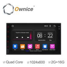 Ownice Универсальный 2 din Android 5.1 Quad Core GPS Автомагнитолы Navi Bluetooth Поддержка 3 Г ВИДЕОРЕГИСТРАТОР Цифровое ТЕЛЕВИДЕНИЕ 2 Г/16 Г нет dvd 1024*600