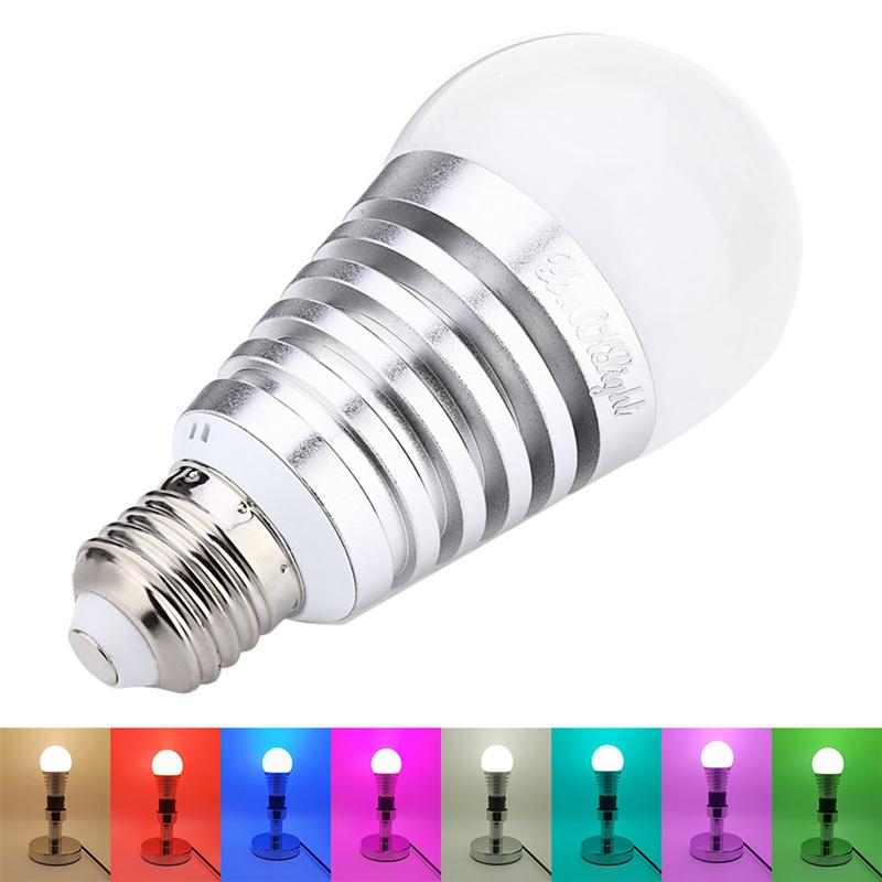 ФОТО Smartphone Controlled Bluetooth Color Changing LED Light Bulb Light with Speaker