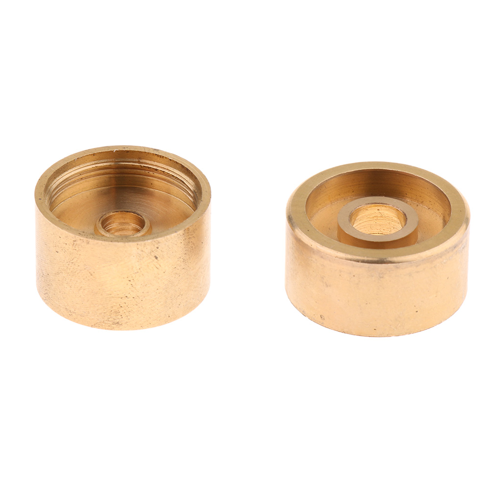 Купить с кэшбэком 1 Set Golden Metal Trumpet Valve Finger Buttons Trumpet Repairing Parts Musical Instrument Accessories for Trumpet