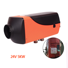 Fuel Tank+5KW Air Diesel Parking Heater 24V for Car Bus Trucks Motor-Homes Boats Warming Air Heater - Similar Webasto Car Heater 12v 24v 5000w parking fuel air heater fuel heater car air conditioning truck diesel parking heater