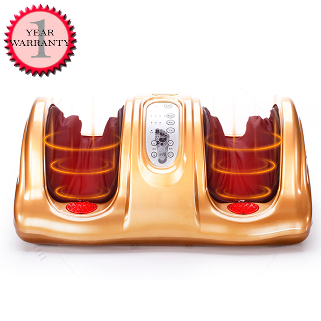 ¡Caliente! Máquina Eléctrica de masaje muscular Shiatsu, rodillos terapéuticos para el cuidado de la salud, antiestrés, calor, regalo para el día de la madre