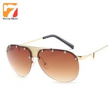 2017 Aviation Steampunk Sunglasses Men Women Brand Designer Fashion Sun Glasses