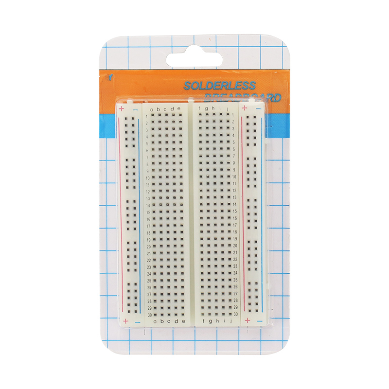 Breadboard 400 Points Solderless Bread Board PCB Test Board ProtoBoard DIY Self-adhesive Prototype For Raspberry Pi 3