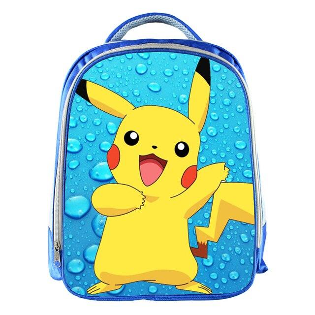f1741e9ff4d3 Pokemon Pikachu Water Droplets Kindergarten Bas Backpack Kid Boys Girls Cute  Pikachu School Backpack Children Primary School Bag