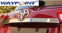 Stainless Steel Rear Trunk Lid molding trim Chrome FOR Toyota RAV4 2013 up 2014