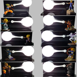 Настольная лампа Dragon Ball Z, светодиодный ночник, Son Goku Vegeta Gohan kamegameha, аниме, Dragon Ball, Z, декоративное освещение для комнаты
