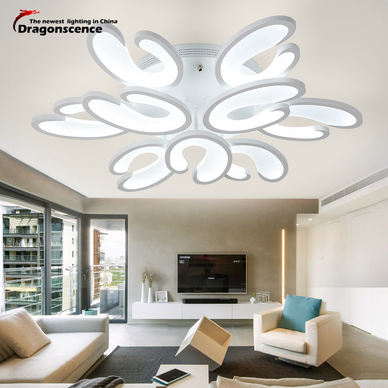 Dragonscence Modern LED ceiling chandeliers lamps for the hall living room Dining Room Bed Room Foyer Kitchen lighting