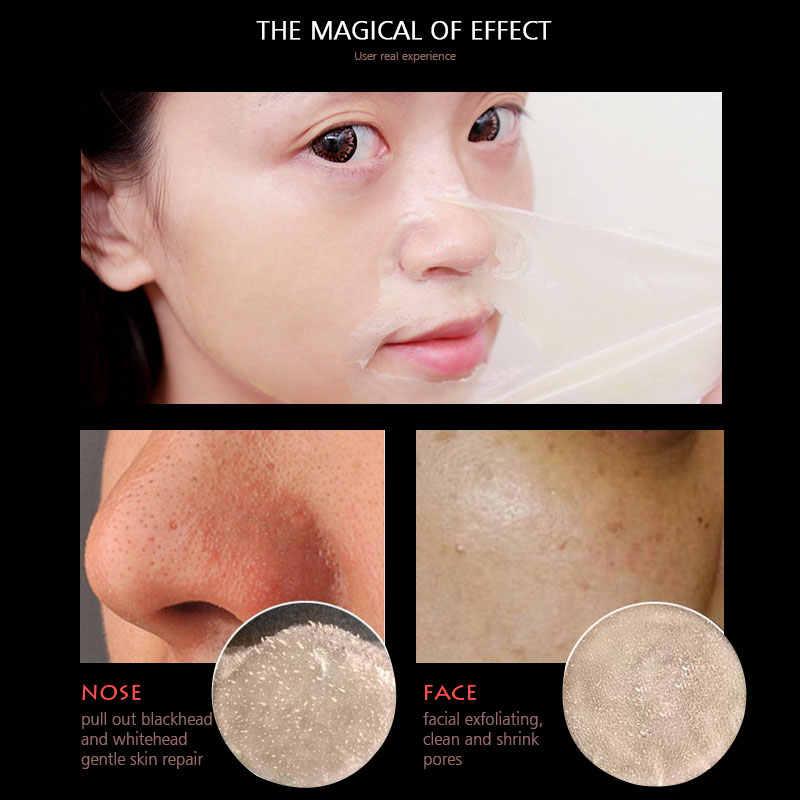 ATISCARE siyah nokta Remover maske soyma akne tedavisi siyah derin temizlik cilt bakımı gözenekleri küçültmek burun gözenek şerit cilt temizleme