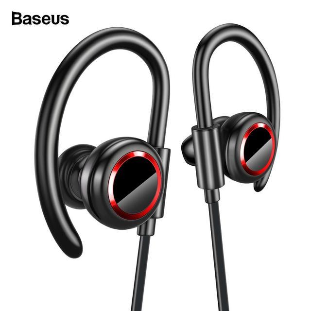Baseus S17 Sport Sans Fil écouteur Bluetooth 50 Casque Pour Xiaomi Iphone Samsung Oreille Téléphone Bud Mains Libres écouteurs Ecouteur Bluetooth