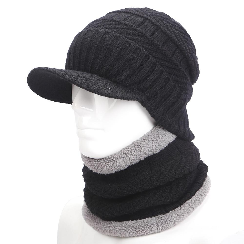 warmer winter hat knit cap scarf cap Winter Hats For s