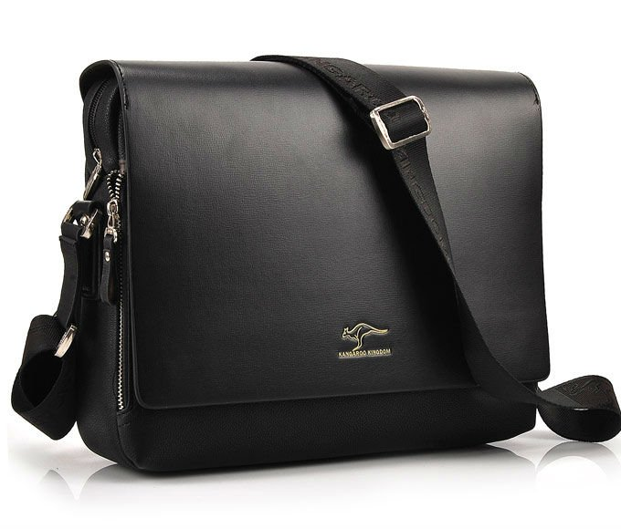 Free Shipping Fashion Casual Leather Men Shoulder Bag Quality Guarantee Brand New Authentic Kangaroo Bags S Business In Crossbody From