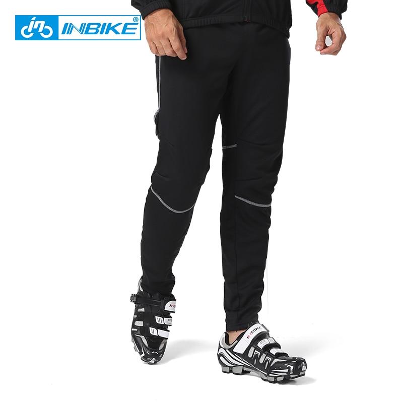 INBIKE automne et d hiver cyclisme pantalon thermique étanche vtt montagne vélo  pantalon long de sport hommes cyclisme vêtements dans Vélo Pantalon de ... e7d72be208f