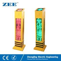 Peatones LED tráfico luz acústica sonido peatonal luz roja infracción detección tráfico señal altavoz sordos ciegos