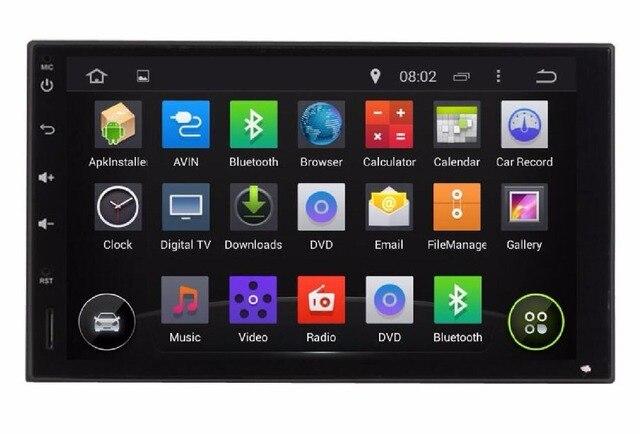"1024*600 7"" Quad Core Android 7.1 Fit Hyundai Accent,Accent Era,Brio,Avega, Verna 2005 to 2010 2011 Car DVD Player GPS Radio DVD"