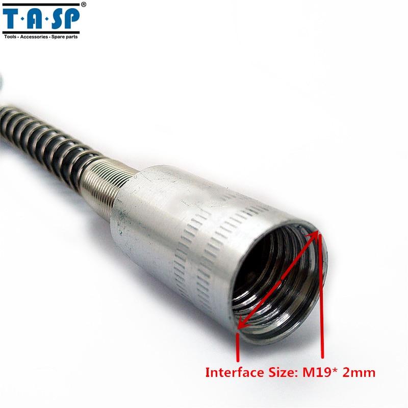 TASP 107 cm sukamojo įrankio lanksčiojo veleno mini gręžimo - Elektrinių įrankių priedai - Nuotrauka 3