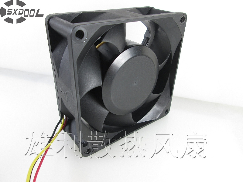 SXDOOL FD128032HB 8032 12V 0.37A 80*80*32 mm cpu cooler heatsink axial Cooling Fan for asus u46e heatsink cooling fan cooler