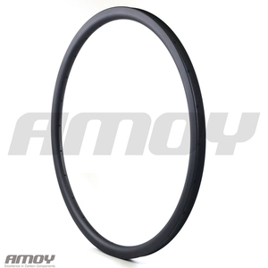 Image 4 - 29er MTB XC 30mm carbon rim clincher tubeless 35mm deep UD 3K 12K matte glossy 24H 28H 32H 29in mountain wheel