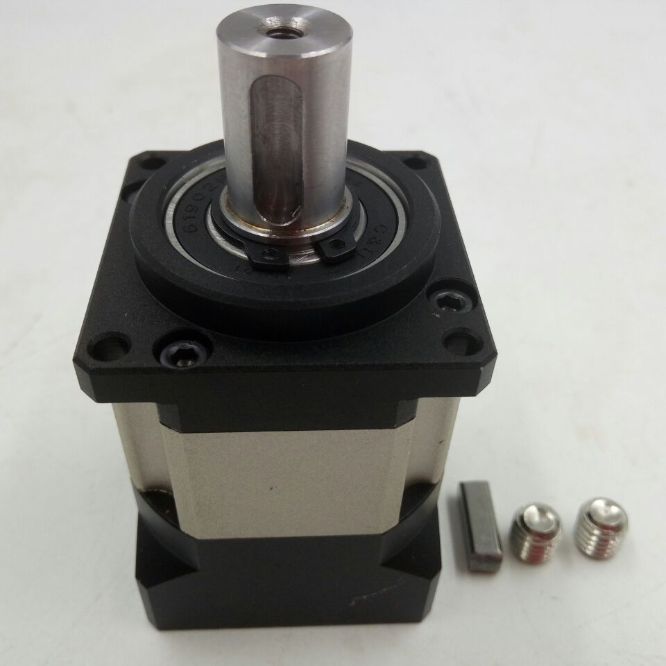 Speed ratio 16:1 Planetary Gearbox NEMA17 42mm Servo Reducer Max output torque 24N.m, Backlash Less than 16arcmin speed ratio 8 1 planetary gearbox nema17 42mm servo reducer for servo motors max output torque 10n m