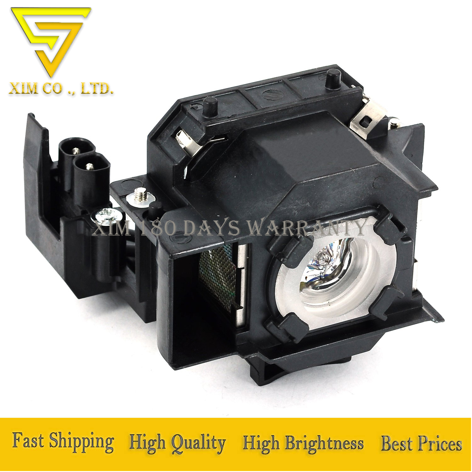High Quality ELPLP34/ V13H010L34 Replacement Projector Lamp For EPSON PowerLite 62C PowerLite 76C PowerLite 82C With Housing