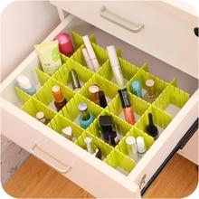4 шт./лот, регулируемый ящик, органайзер, доска, коробки для хранения для дома, Декор, гардероб, короткие коробки для одежды, разделитель ZSP53121