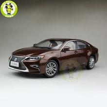 1/18 Toyota Lexus ES 300 ES300H Литья Под Давлением Модели Автомобиля Внедорожник хобби коллекция Подарков Браун