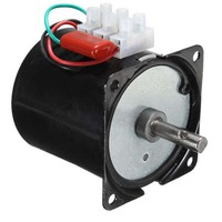 110VAC /25w/2.5 rpm 100rpm Low Noise Gearbox Electric Motor 50HZ 60HZ High Torque Low Speed AC synchronous motor 60KTYZ