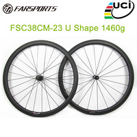New High End Carbon Wheelset 50mm Clincher Rims With DT350 Straight Pull Hub 23mm Width Carbon