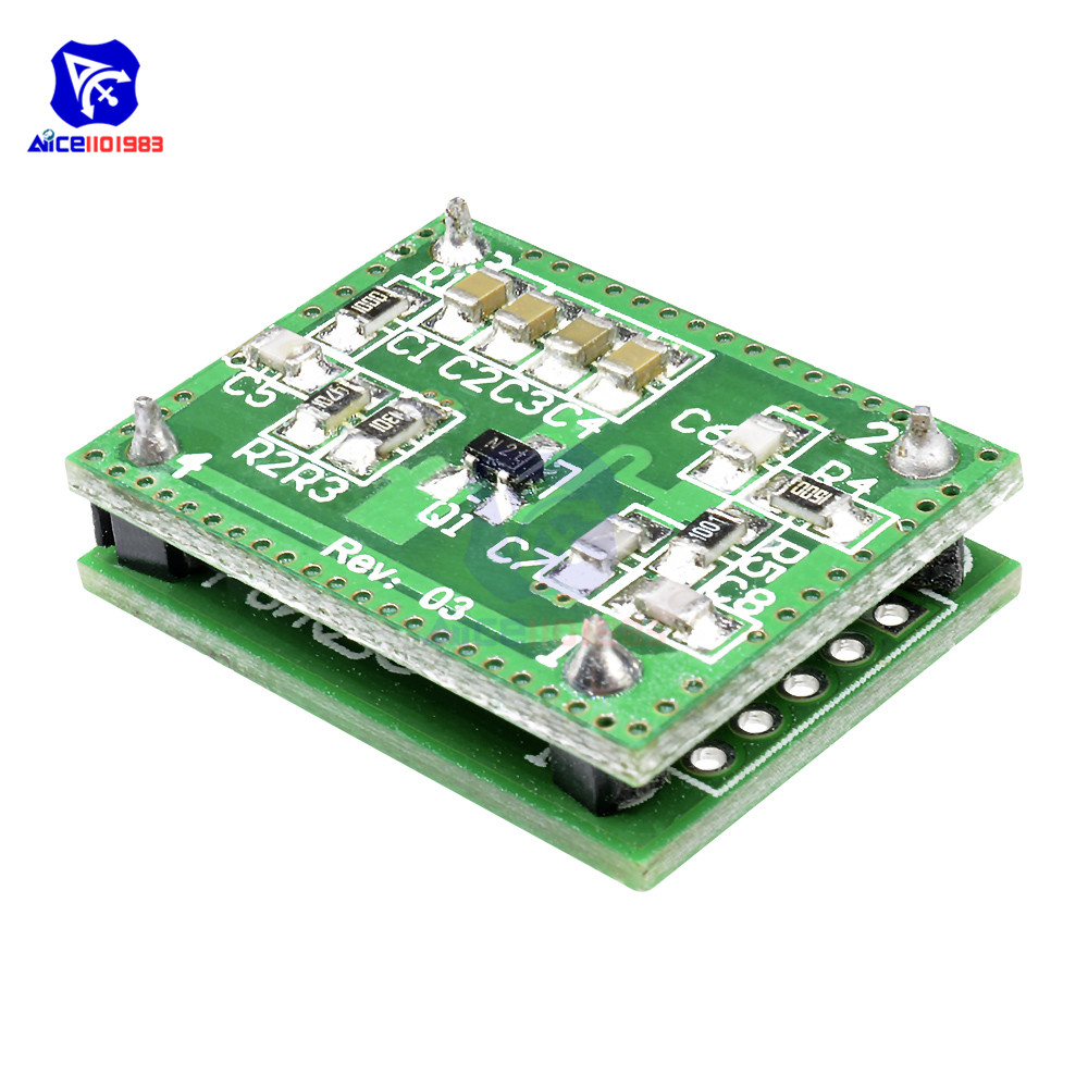diymore LV002 8-15M Doppler Radar Microwave Sensor Switch Module DC 6-40V for Yard Occasion Corridor Hallway(China)