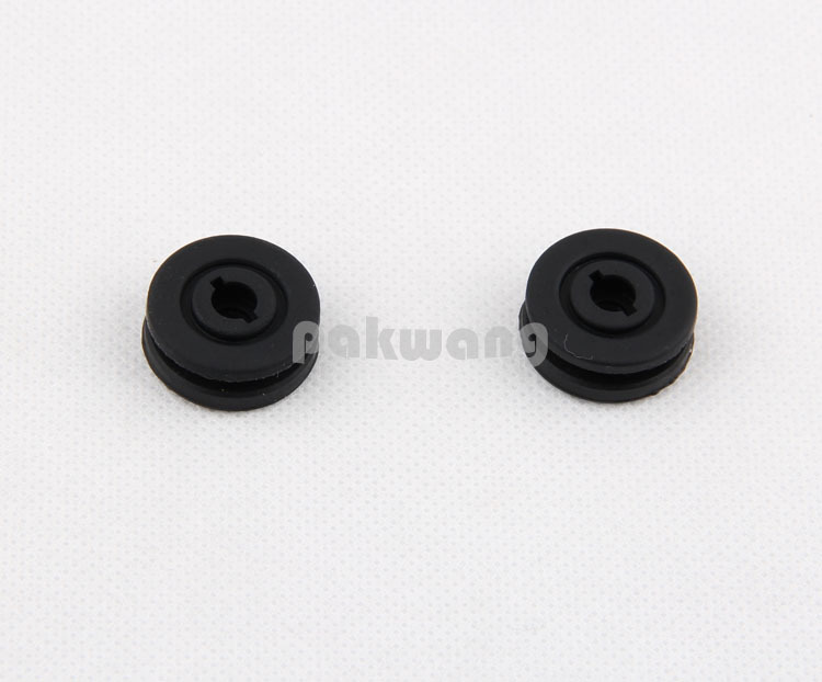 Robot vacuum cleaner XR210 Spare Parts Rubber Sleeve (not included Bearing) 2 pcs Accessories robot vacuum cleaner xr210 spare parts rubber sleeve not included bearing 2 pcs accessories