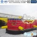 Корабль Надувные Замки Прыжки Вышибала для Детей Парк