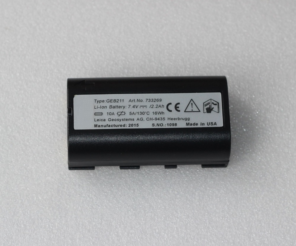 New GEB211 GEB212 Li-ion 2 6Ah battery For ATX1200 RX1200 GPS1200 GRX1200 GPS