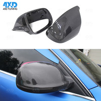 carbon mirror cover For Audi Q5 SQ5 Q7 Side Rear View Mirror Cover Caps 1:1 Replacement 2009 2010 2011 2012 2013 2017 2018 2019
