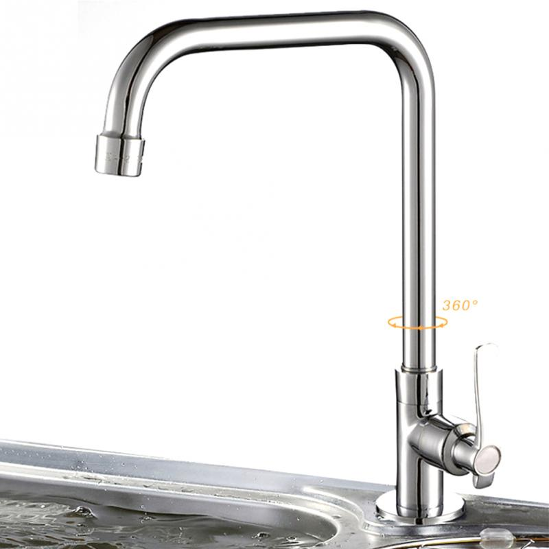 Universal kitchen faucets 6 types deck mounted wall for Different types of kitchen faucets