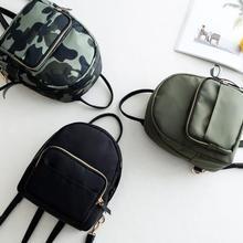 Нейлоновый Водонепроницаемый модный рюкзак женская Повседневная маленькая дорожная сумка