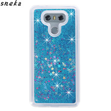 sFor LG G6 phone case Dynamic Liquid Glitter Sand Quicksand Star Cases Crystal Clear phone Back Cover phone case For LG G6 Case
