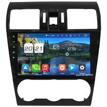 4G Octa Core Android 6.0 WIFI 2 GB RAM 32 GB ROM DAB + FM Del Coche Reproductor de DVD de Radio Estéreo Para Subaru Forester XV WRX STI 2014 2015 2016