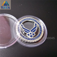 TARTADECO 2016 15Pcs/Lot Free Shipping New Arrival Usa Air Force Coins Plating Commemorative Coins Souvenir Coin