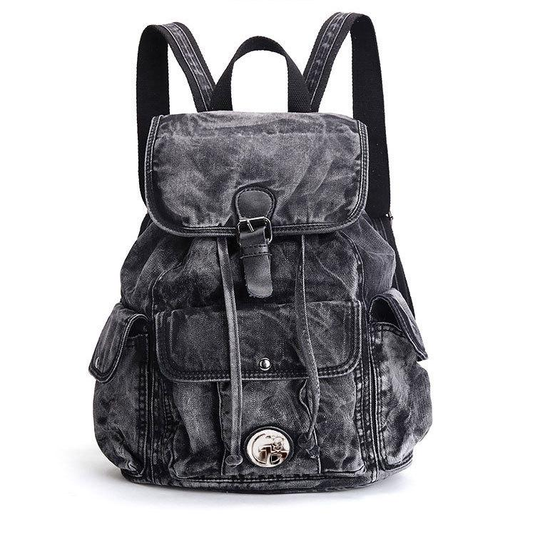 2017 Womens Backpack Denim Daily Backpack Vintage Backpacks Travel Lay Bag  Rucksack Backpack mochila2017 Womens Backpack Denim Daily Backpack Vintage Backpacks Travel Lay Bag  Rucksack Backpack mochila