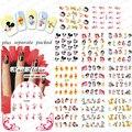 2015NEW 90 UNIDS/LOTE BLE488-498 Oso Pato de Dibujos Animados Blancanieves Pegatinas Nail Art Diseño Etiqueta Engomada Del Clavo de Transferencia de Agua
