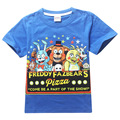 2016 Summer Five Nights At Freddys Boys T Shirt Clothing Cartoon Cute Boy Kids T-shirt Children Tees Five Nights At Freddys