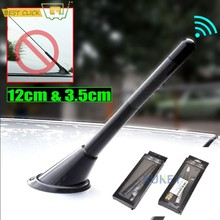 3.5cm/12cm araba kısa karbon radyo anteni Arial anten Ford Focus Escape Kuga Fiesta Ecosport KA mini R55 R56 vb