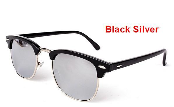 J47 2016 Новый Горячий мужская Мода UV400 покрытия Солнцезащитные Очки мужчины Вождение Зеркало Очки Солнцезащитные Очки Мужчин и Женщин