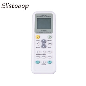 Image 2 - Elistooop Universal Low Power Consumption 1028E Air Condition 1028E LCD A/C Muli Remote Control Controller
