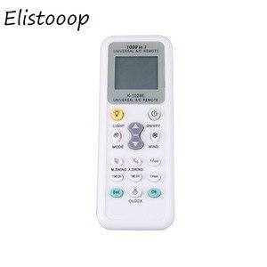 Image 2 - Elistooop evrensel düşük güç tüketimi 1028E klima 1028E LCD A/C çok uzaktan kumanda kontrolörü
